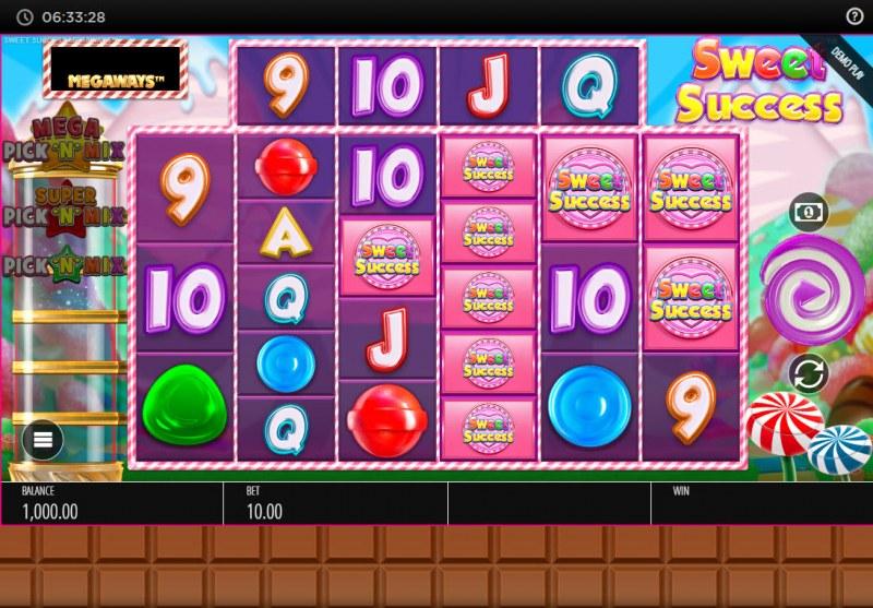 Sweet Success Megaways :: Main Game Board