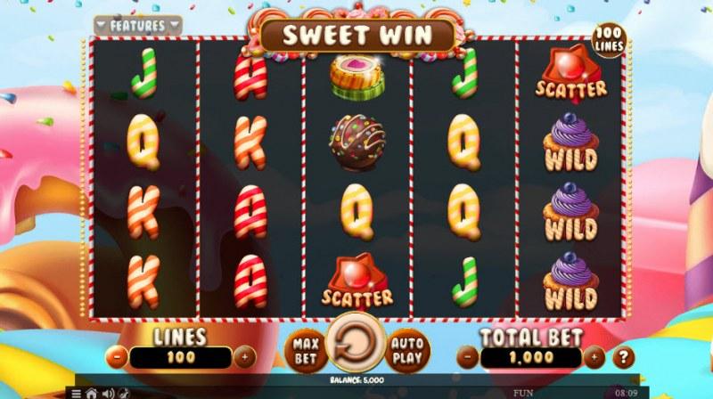 Sweet Win :: Main Game Board