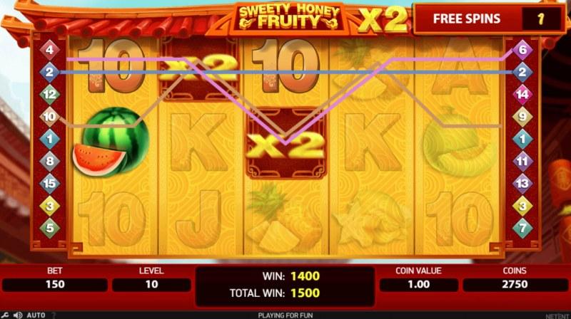 Sweety Honey Fruity :: Big Win