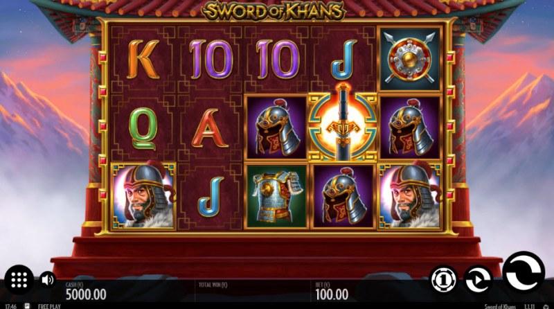 Sword of Khans :: Main Game Board