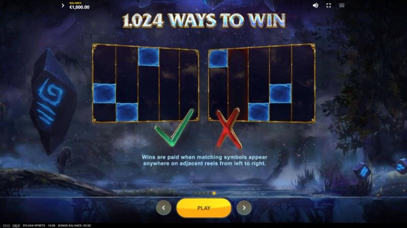 Sylvan Spirits :: 1024 Ways to Win