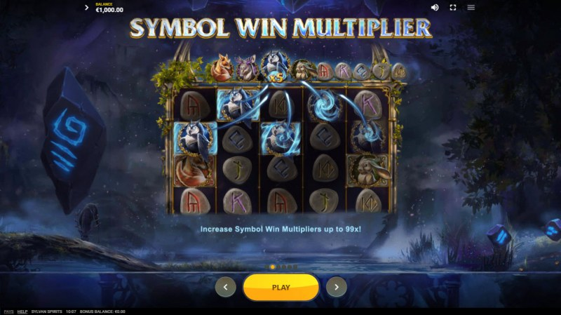 Sylvan Spirits :: Symbol Win Multiplier