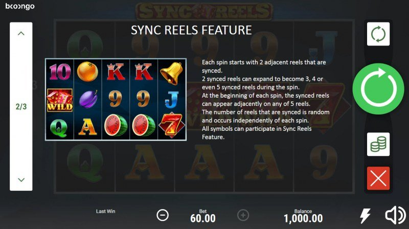 Sync Reels :: Feature Rules