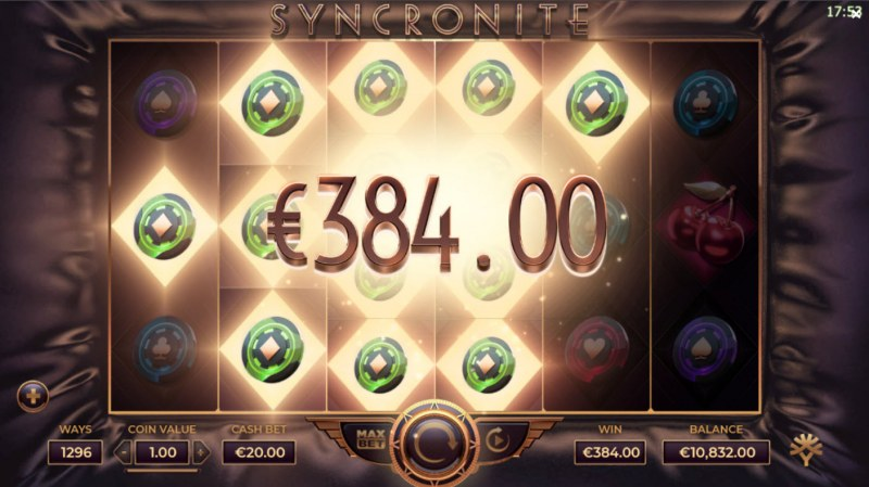 Syncronite :: Multiple winning combinations