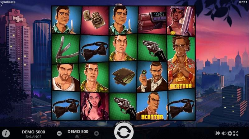 Syndicate :: Main Game Board