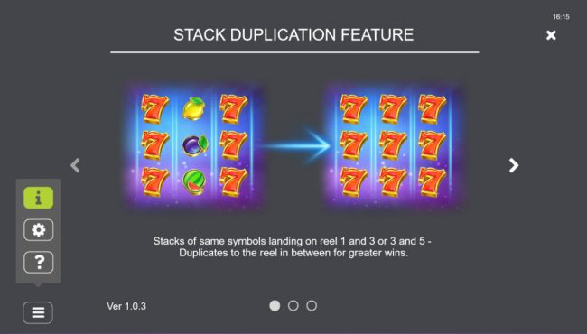 Stack Duplication Feature