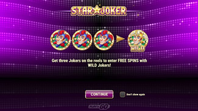 Split Aces featuring the Video Slots Star Joker with a maximum payout of $500,000