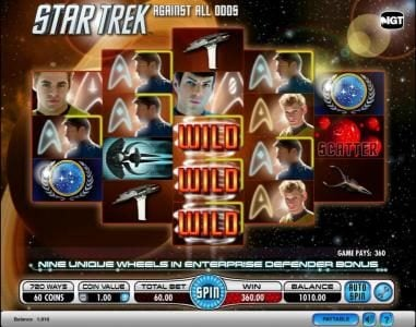 Party Casino featuring the Video Slots Star Trek - Against All Odds with a maximum payout of $250,000