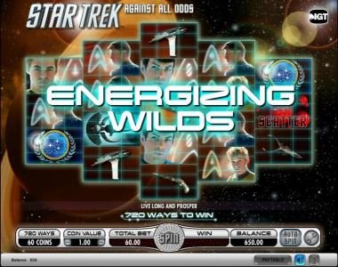 Play slots at Genting: Genting featuring the Video Slots Star Trek - Against All Odds with a maximum payout of $250,000