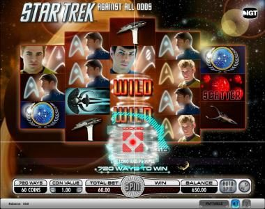 Play slots at Queen Vegas: Queen Vegas featuring the Video Slots Star Trek - Against All Odds with a maximum payout of $250,000