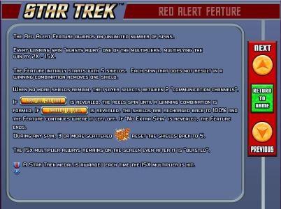 Star Trek: Red Alert :: red alert feature game rules.