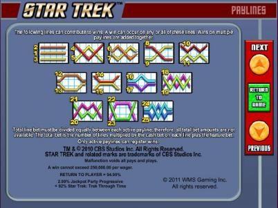 Play slots at Club Vulkan: Club Vulkan featuring the Video Slots Star Trek: Trek through Time with a maximum payout of $40,000