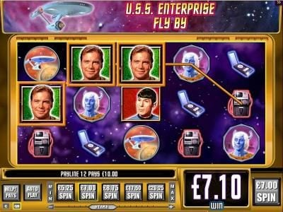 Casumo featuring the Video Slots Star Trek Episode 2 : Explore New Worlds with a maximum payout of $4,500