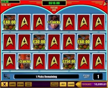 Casino Red Kings featuring the Video Slots Star Trek Episode 3 : The Trouble With Tribbles with a maximum payout of $14,000