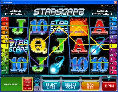 Quatro featuring the Video Slots Starscape with a maximum payout of $70,000