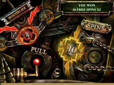 Winward featuring the Video Slots Steam Punk Heroes with a maximum payout of $4,000