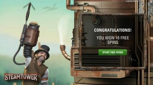 Spinzilla featuring the Video Slots Steam Tower with a maximum payout of $0