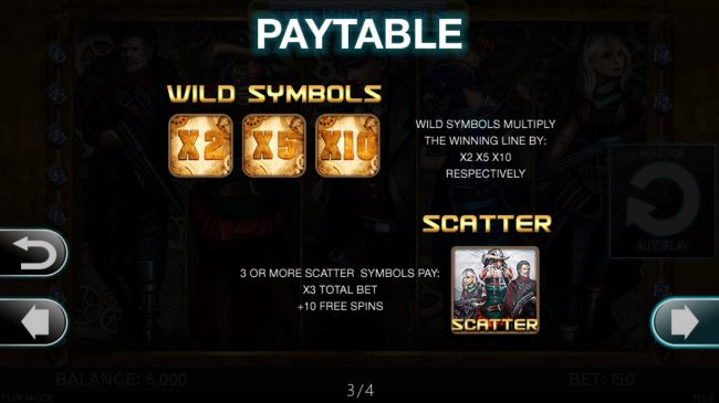 ReelTastic featuring the Video Slots Steaming Reels with a maximum payout of $15,000