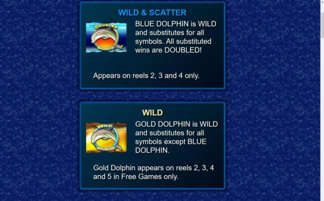 Trada featuring the Video Slots Stellar Jackpots with Dolphin Gold with a maximum payout of Jackpot
