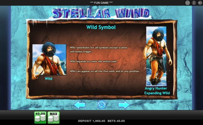 Lapalingo featuring the Video Slots Stellar Wind with a maximum payout of $50,000