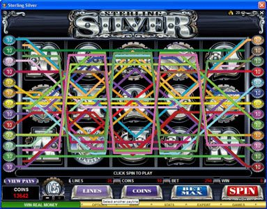 Conquer featuring the Video Slots Sterling Silver with a maximum payout of $200,000