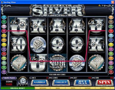 Guts featuring the Video Slots Sterling Silver with a maximum payout of $200,000