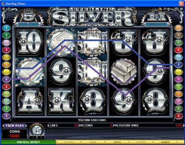 Casino Red Kings featuring the Video Slots Sterling Silver with a maximum payout of $200,000