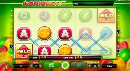 Play slots at Avalon78: Avalon78 featuring the Video Slots Stickers with a maximum payout of $80,000