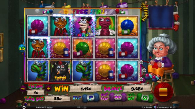 24 Vip featuring the Video Slots Stinky Socks Slots with a maximum payout of $100,000