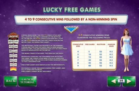 Noble featuring the Video Slots Streak of Luck with a maximum payout of $1,000,000