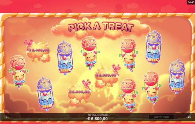 Virtual City featuring the Video Slots Sugar Parade with a maximum payout of $620,000