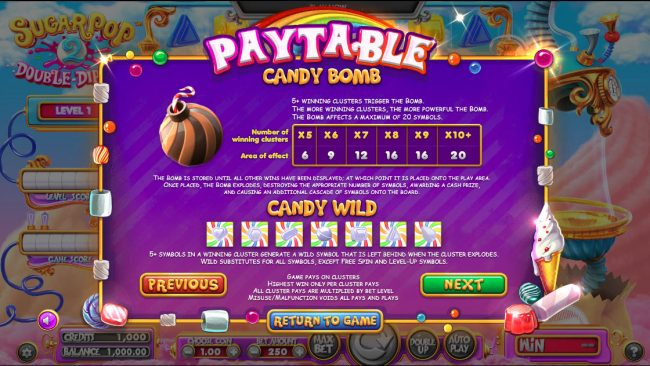 Sugar Pop 2 Double Dipped :: Candy Bomb