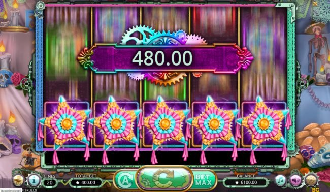Casino Dingo featuring the Video Slots Sugar Skulls with a maximum payout of $20,000