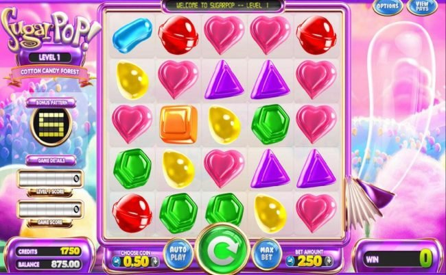 Play slots at Mister Winner: Mister Winner featuring the Video Slots Sugar Pop! with a maximum payout of N/A