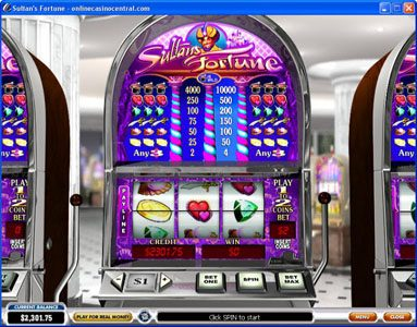Play slots at Casino King: Casino King featuring the video-Slots Sultan's Fortune with a maximum payout of $100,000