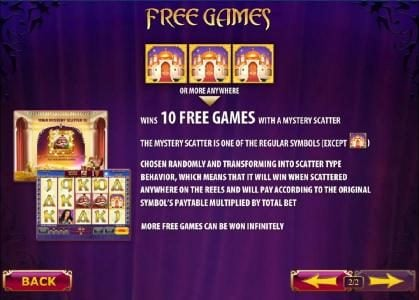 Free Games feature rules and how to play