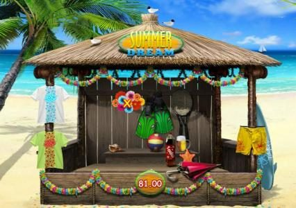 888 Casino featuring the Video Slots Summer Dream with a maximum payout of $3,000