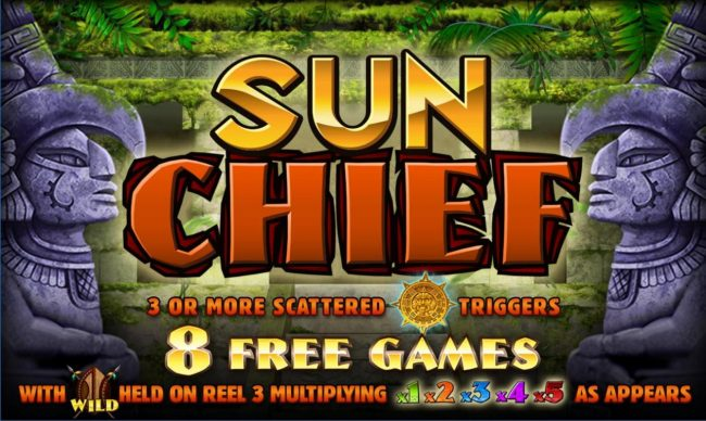 Sun Chief :: Splash screen - game loading