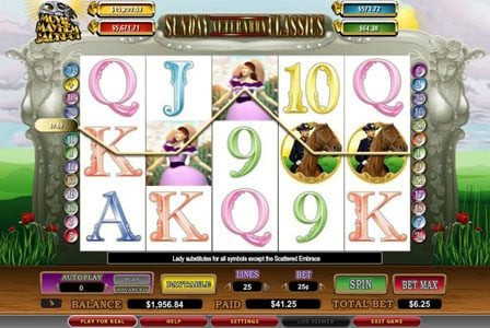 My Bet featuring the video-Slots Sunday Afternoon Classics with a maximum payout of 6,000x