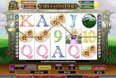 Vegas Winner featuring the video-Slots Sunday Afternoon Classics with a maximum payout of 6,000x