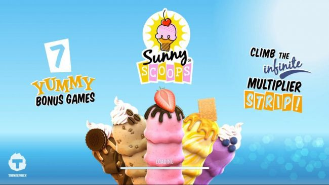 Lucky Me Slots featuring the Video Slots Sunny Scoops with a maximum payout of $500