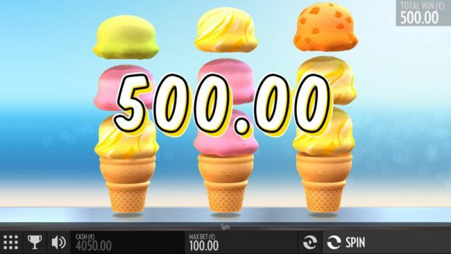 Buran featuring the Video Slots Sunny Scoops with a maximum payout of $500