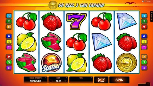 Astralbet featuring the Video Slots SunTide with a maximum payout of $75,000