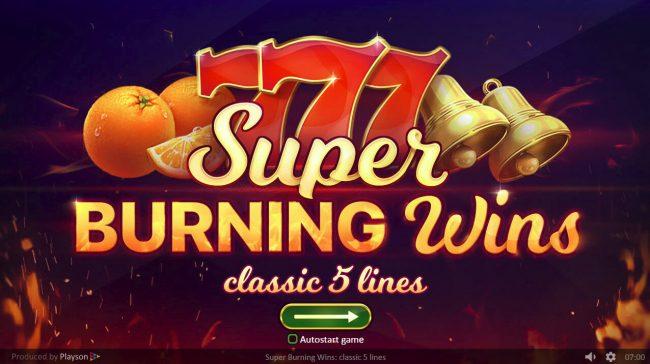 Play slots at Magik Slots: Magik Slots featuring the Video Slots Super Burning Wins with a maximum payout of $75,000