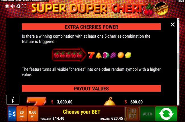 Super Duper Cherry Red Hot Firepot :: Extra Cherries Power