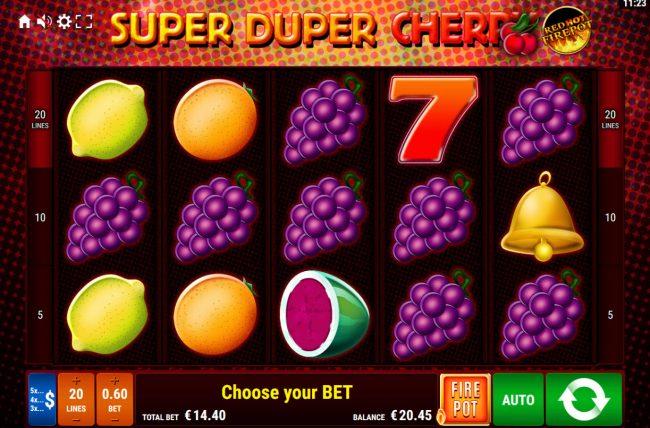 Super Duper Cherry Red Hot Firepot :: Main Game Board