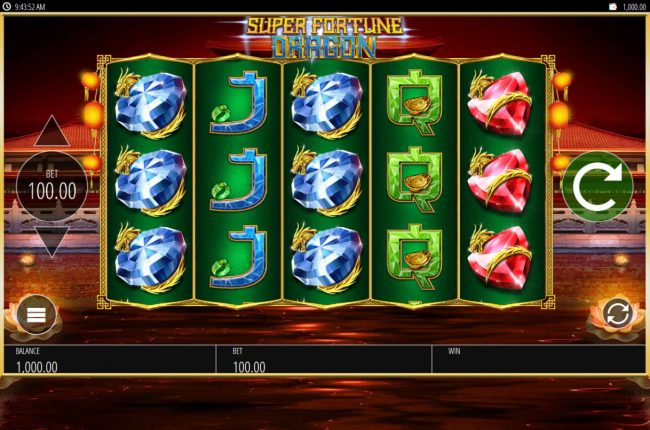 Play slots at Conquer: Conquer featuring the Video Slots Super Fortune Dragon with a maximum payout of $250,000