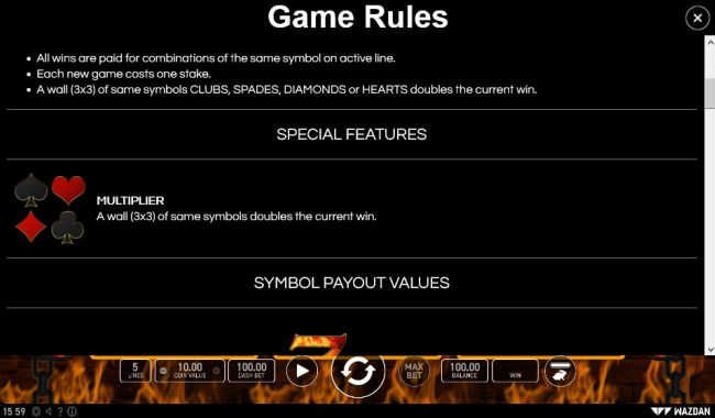 Super Hot :: General Game Rules