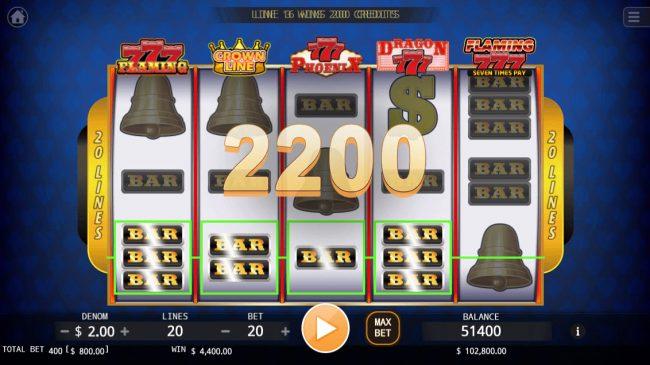 Super Shot :: Multiple winning paylines triggers a big win