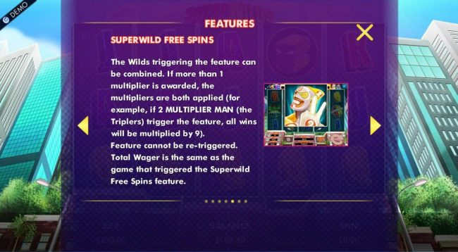 Superwild Free Spins Rules